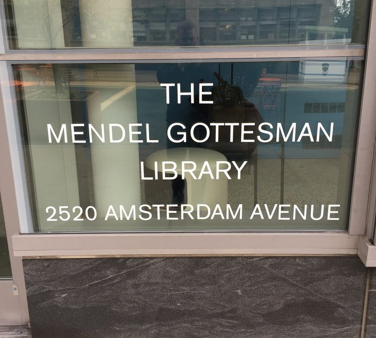 The Mendel Gottesman Library