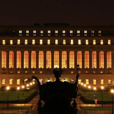 columbia_university_library___night_by_never4getthis-d57w6dl